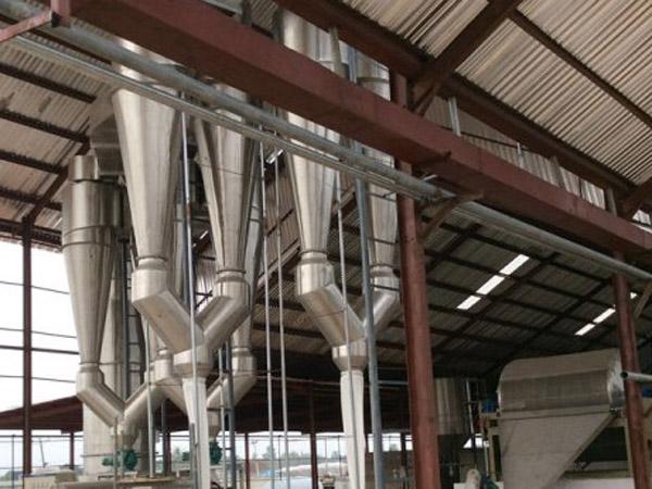 Nigeria is installing 80TPD cassava flour processing machine