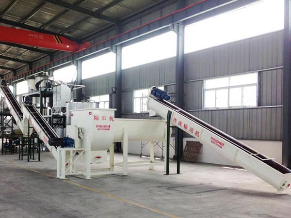 Potatoes starch processing machine